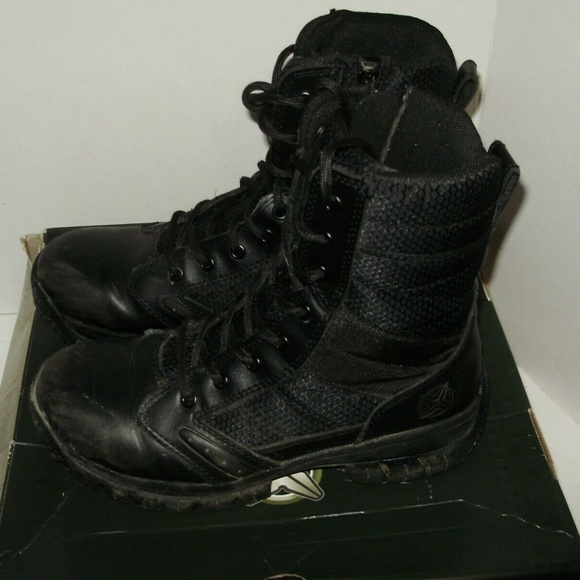 7802c07152e Tactical Performance Mens Boots Size 7 Hawk 8